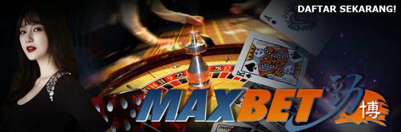 daftar judi casino online maxbet